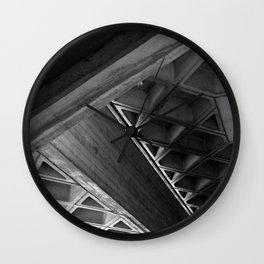 Brutalist Series - National Theatre #1 Wall Clock