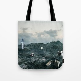 Survival of the tallest Tote Bag