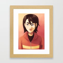 俞  立快 Framed Art Print