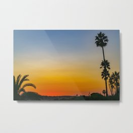 The Colors of Sunset Metal Print