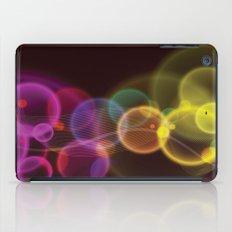 Rainbow Bubbles Design iPad Case