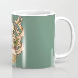 Skull and Sword Coffee Mug