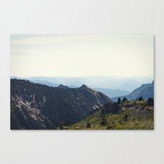 Sunny Mountain Canvas Print