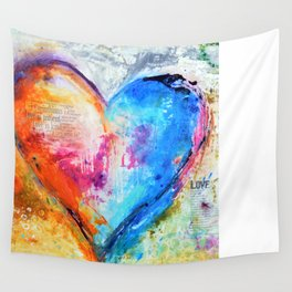 The Patience of Love Wall Tapestry