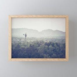 Old Windmill #textured Framed Mini Art Print