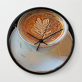 Not Your Ordinary Coffee Wall Clock