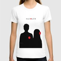 naruto T-shirts featuring He ♥ She by RaJess