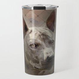 Thai ridgeback dog portrait Travel Mug