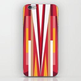 Circus Geometric Print iPhone Skin