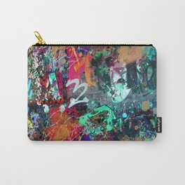 Graffiti and Paint Splatter Carry-All Pouch