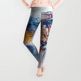 Timber Wolf Leggings