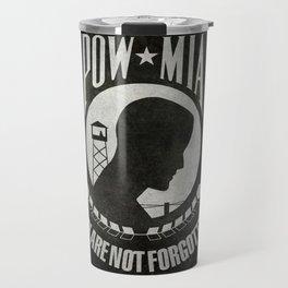 POW MIA Flag - Prisoner of War - Missing in Action Travel Mug