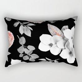 Night bloom - moonlit flame Rectangular Pillow