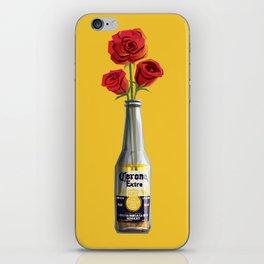 Dudes Love Roses (Yellow) iPhone Skin