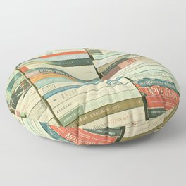 Bookworm Floor Pillow