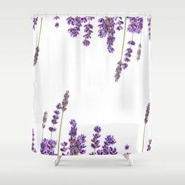 Purple Lavender #2 #decor #art #society6 Shower Curtain