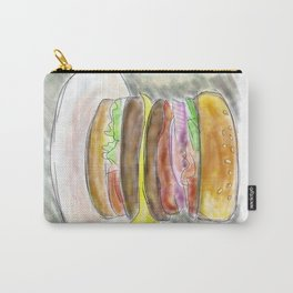 Bacon Double Cheeseburger Carry-All Pouch