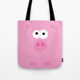 Minimal Pig Tote Bag
