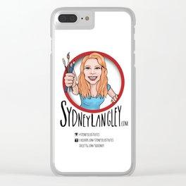 Sydney Langley Illustration Logo Clear iPhone Case