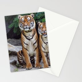 Two Tigers Stationery Cards