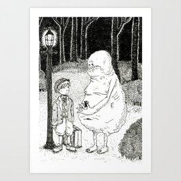Monsters, No. 1 Art Print