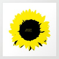 Sunflower1 Art Print