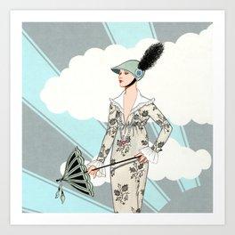Art Deco 6 Art Print