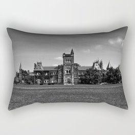 University College Main Building Toronto Canada Rectangular Pillow