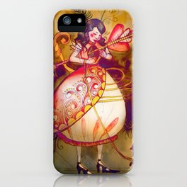 Love in Wonderland iPhone Case