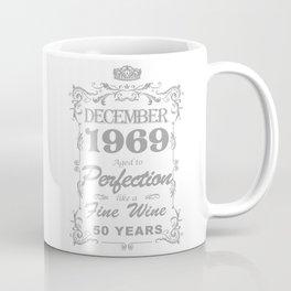 December 1969 50th Birthday Coffee Mug