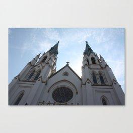 Cathedral, Savannah Ga. Canvas Print
