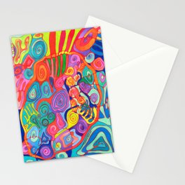 Jungle Nights Stationery Cards