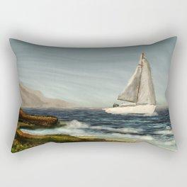 Sailing away Rectangular Pillow