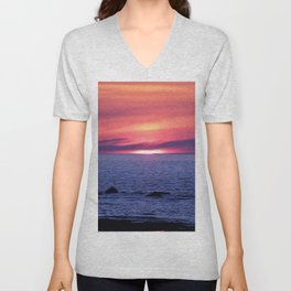 Painted By Nature Unisex V-Neck