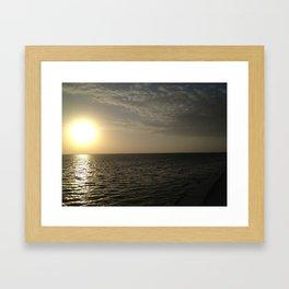 Good Morning World.  Framed Art Print