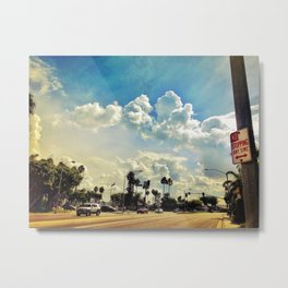 No Stopping Any Time Metal Print