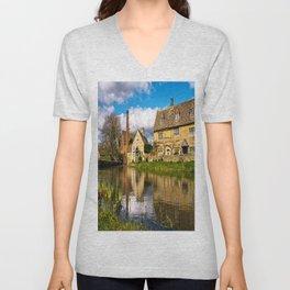 The Old Mill  Unisex V-Neck