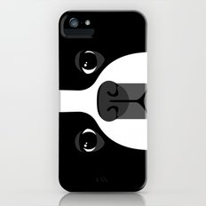 Boston Terrier Close Up iPhone (5, 5s) Slim Case