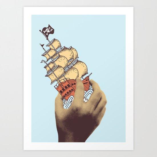 Arr! Arr! Art Print