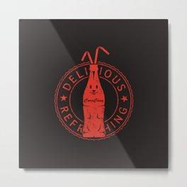 Coca Cony Metal Print