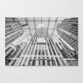 Big Apple in the Big Apple Canvas Print