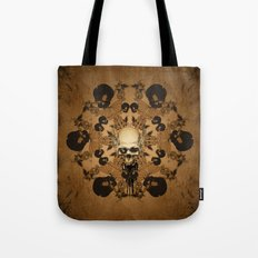 Awesome skull Tote Bag