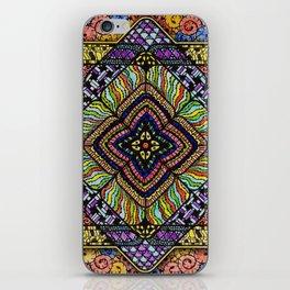 Family Mandala - מנדלה משפחה iPhone Skin