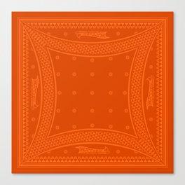Morning Star (Orange) Canvas Print