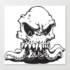 Squiddy Canvas Print
