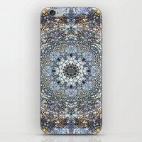 kaleidoscope iPhone & iPod Skins featuring Kaleidoscope by Tina Sieben