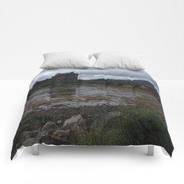 Eilean Donan Castle in Scotland Comforters