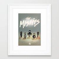 misfits Framed Art Prints featuring Misfits Print by LostMind