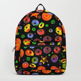 colored BOOM! Colored pattern Backpack