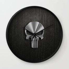 IRON SKULL Wall Clock